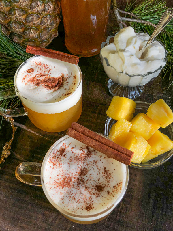 Spiced Pineapple Rum Toddies from Shutterbean.com!