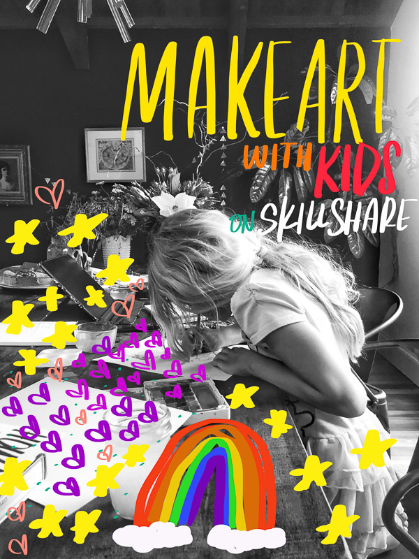Art with Kids on Skillshare! See more on Shutterbean.com!