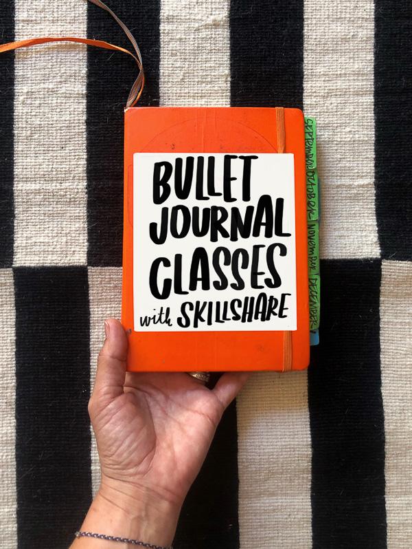 Bullet Journal Classes with Skillshare