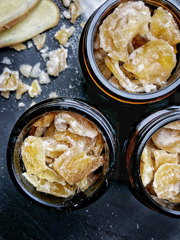 Make your own Crystallized Ginger. Recipe on Shutterbean.com!
