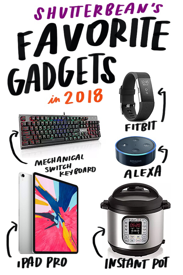 Shutterbean's Favorite Things (Gift Guide!) of 2018