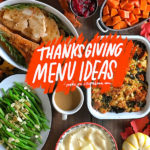 Thanksgiving Menu Ideas from Shutterbean.com!