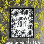 Currently 2019 Workbook by Tracy Benjamin of Shutterbean.com- A fun way to navigate the year and practice your handwriting while you do so!