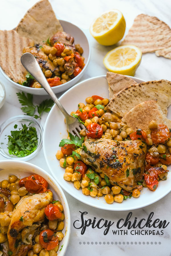 Spicy Chicken with Chickpeas