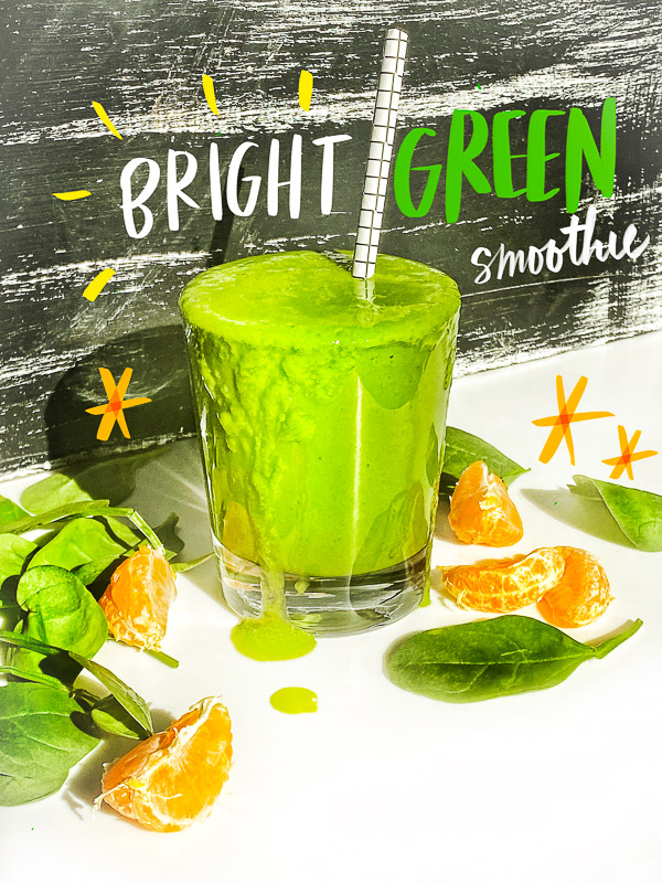 Bright Green Smoothie + Giveaway!