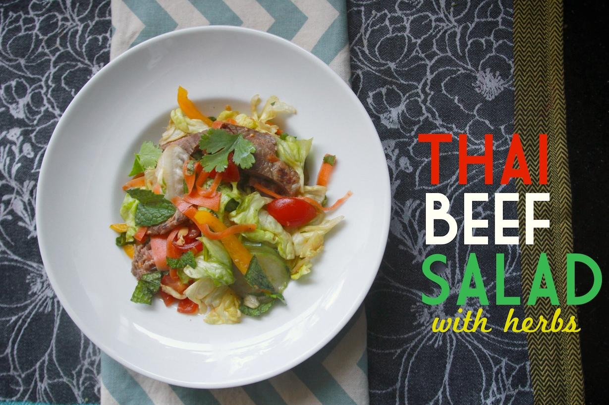 Thai Beef Salad with Herbs