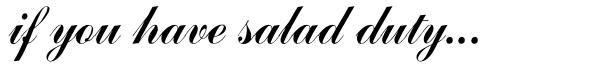 saladduty