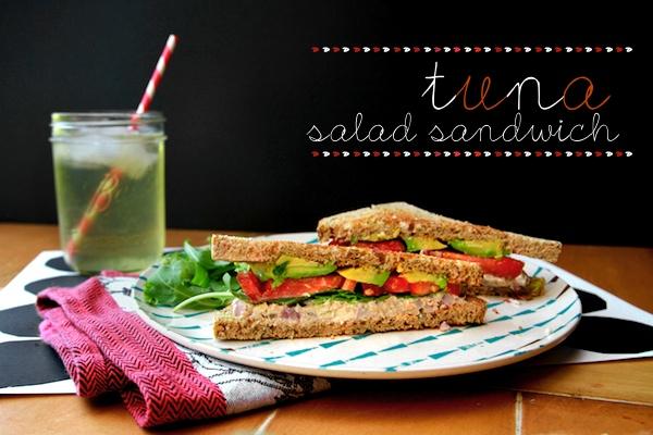 TUNA SALAD SANDWICH // shutterbean