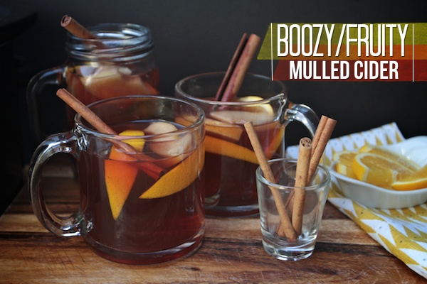 Boozy Fruity Mulled Cider