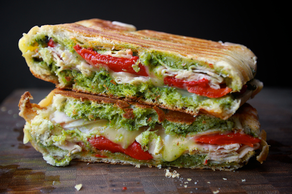 Turkey + Pepper Panini