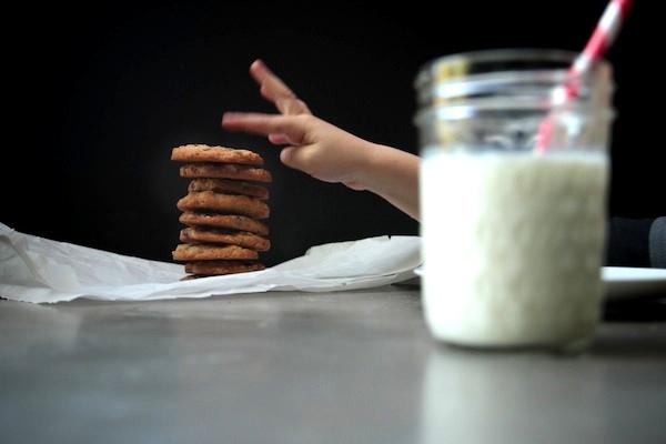 Slice & Bake Oatmeal Raisin Cookies