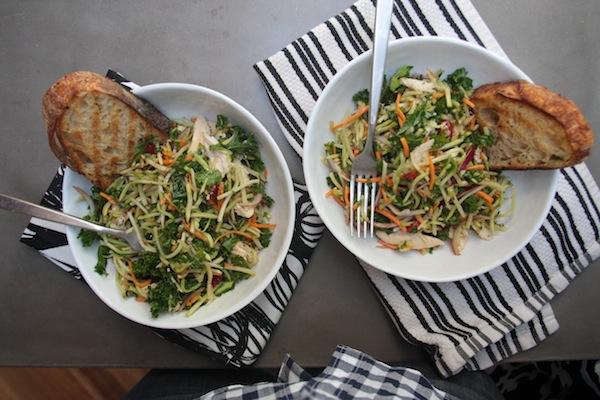Broccoli Kale Slaw // shutterbean