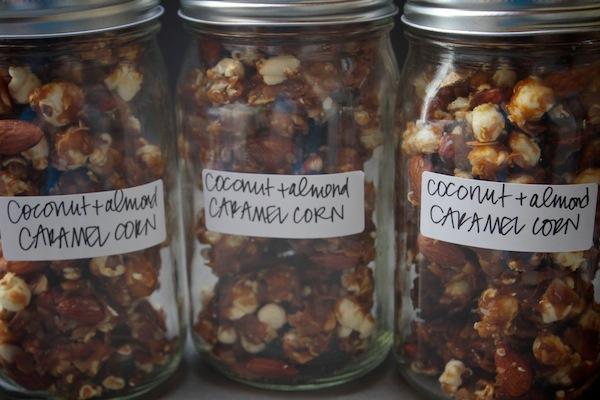 Coconut Almond Caramel Corn // shutterbean