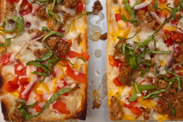 French Bread Pizza // shutterbean