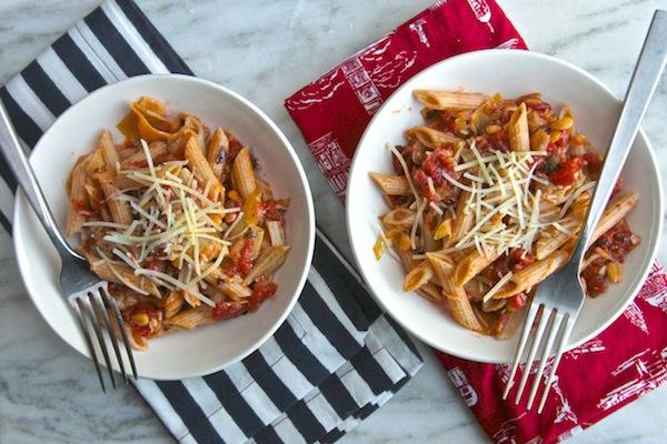 Tomato & Artichoke Penne