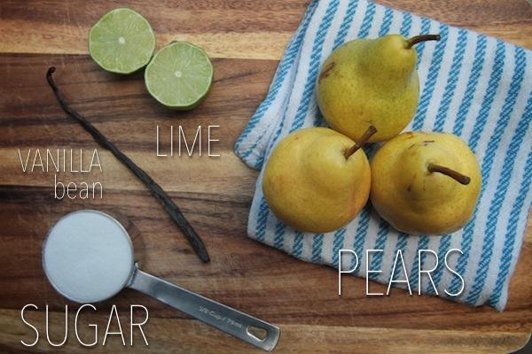Pear Vanilla Sparklers // shutterbean