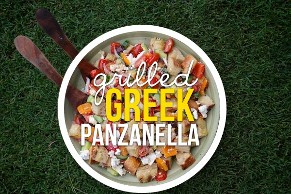 Grilled Greek Panzanella // shutterbean