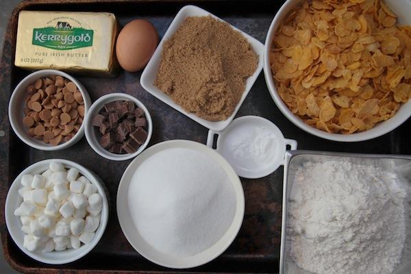 Cornflake Marshmallow Cookies