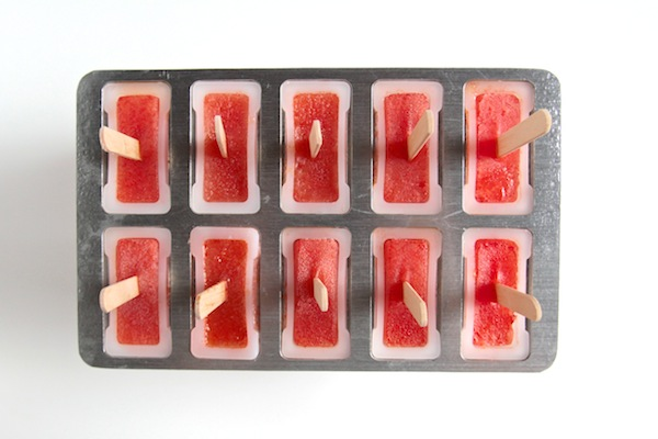 Cucumber Watermelon Popsicles // shutterbean