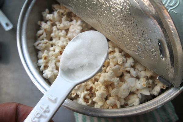 Toasted Coconut Popcorn // shutterbean