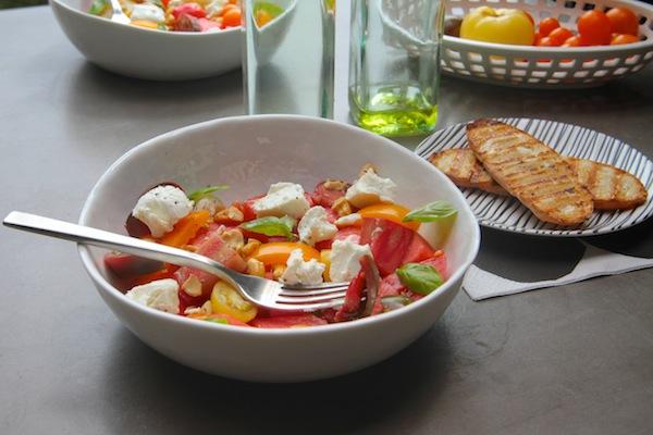 Tomato Watermelon Salad // shutterbean