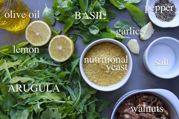 Arugula Pesto // shutterbean