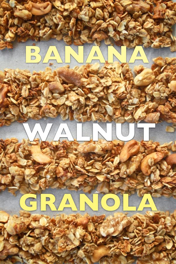 Banana Walnut Granola // shutterbean
