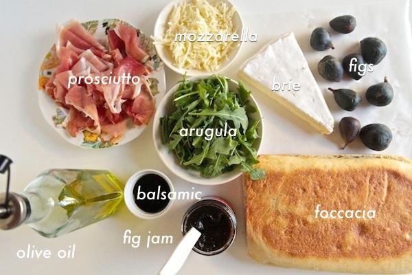 Prosciutto & Fig Panini // shutterbean