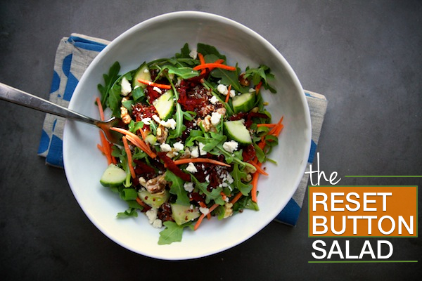 The Reset Button Salad // shutterbean