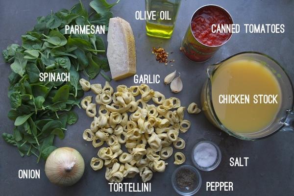 Spinach Tortellini Soup // shutterbean