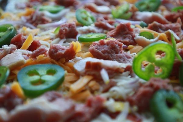 Bacon Cheeseburger Pizza -- shutterbean