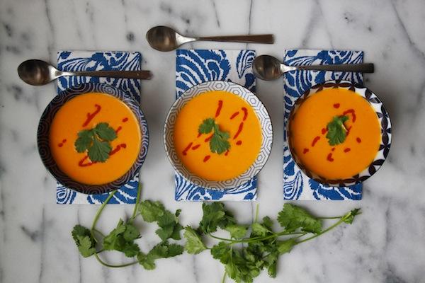 Carrot Coconut Soup // shutterbean