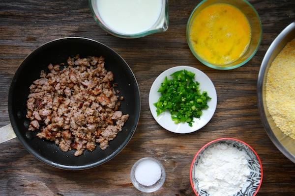 Sausage Jalapeño Hushpuppies // shutterbean
