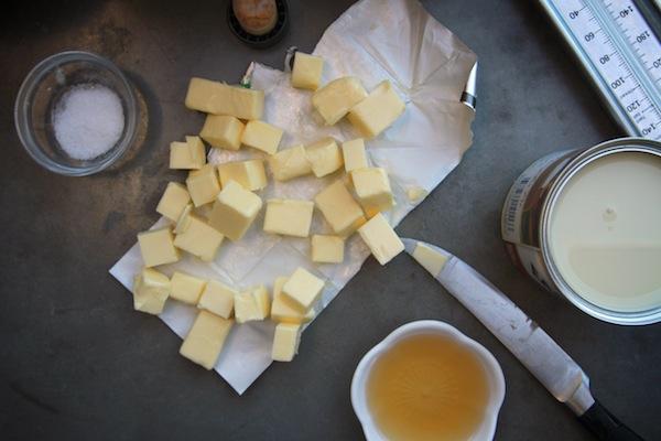 Bourbon Salted Caramels // shutterbean