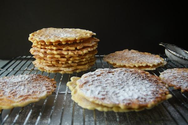 Almond Pizzelles // shutterbean