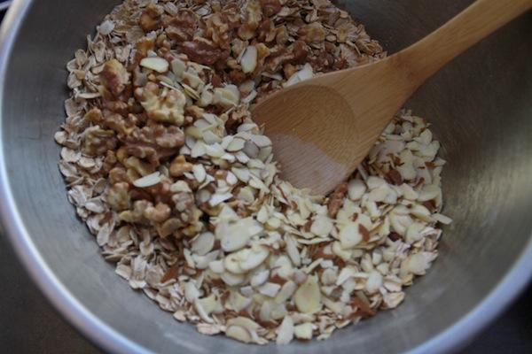 Banana Walnut Baked Oatmeal // shutterbean