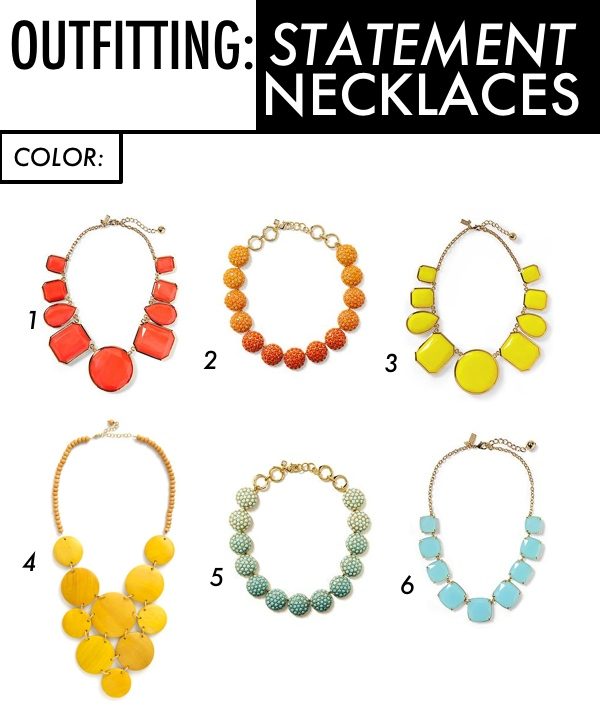 Outfitting: Statement Necklaces