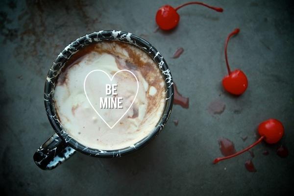 Cherry Vanilla Hot Chocolate // shutterbean