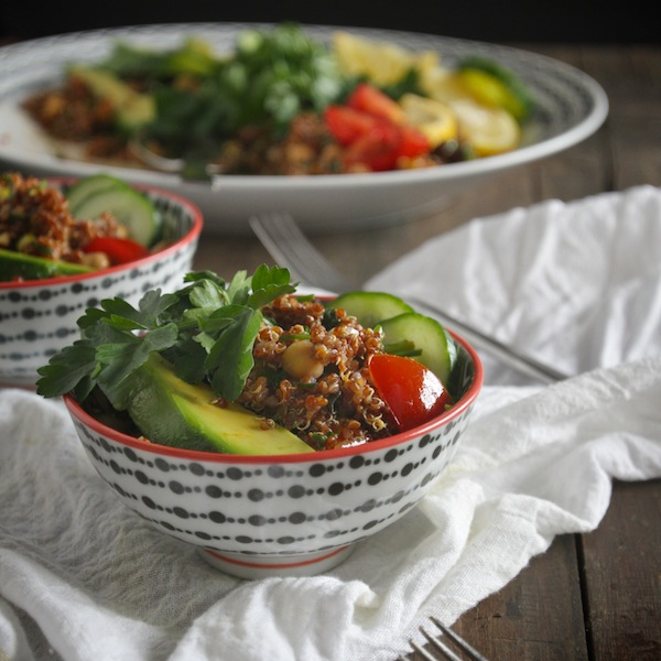 Quinoa Tabbouleh Salad // shutterbean