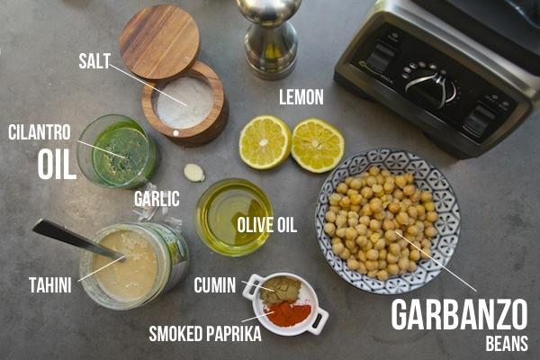Cilantro Hummus // shutterbean