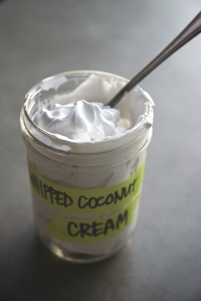 Whipped Coconut Cream // shutterbean