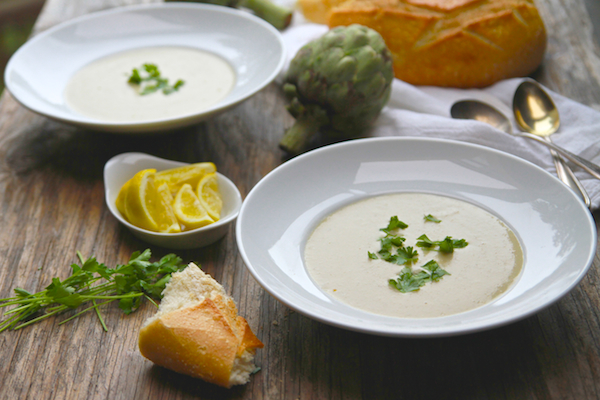 Cream of Artichoke Soup // shutterbean