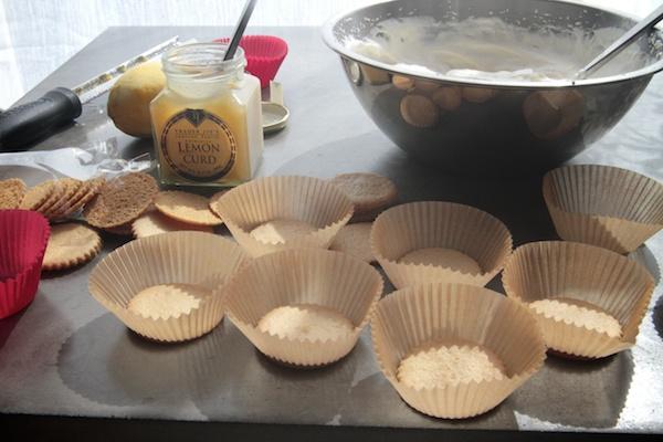 Lemon Icebox Cupcakes // shutterbean