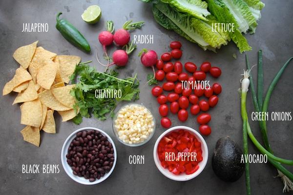 Vegan Taco Salad // shutterbean