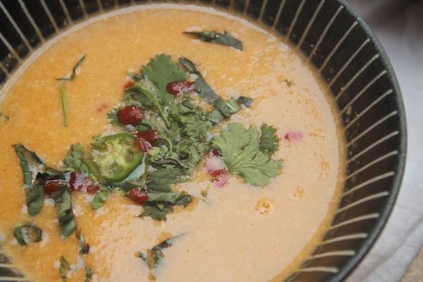 Thai Corn Coconut Soup // shutterbean