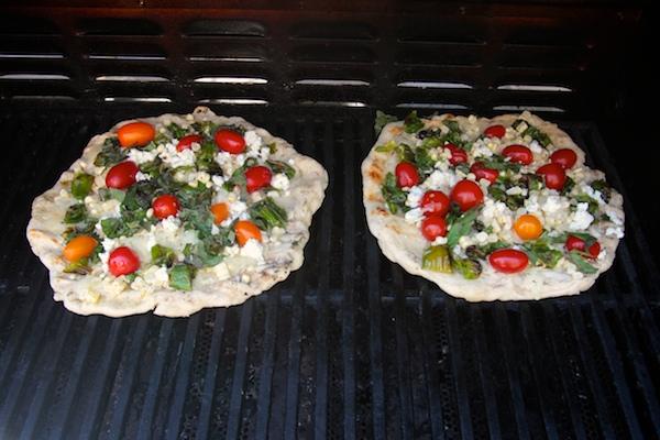 Corn Tomato Shisito Pepper Pizza // shutterbean