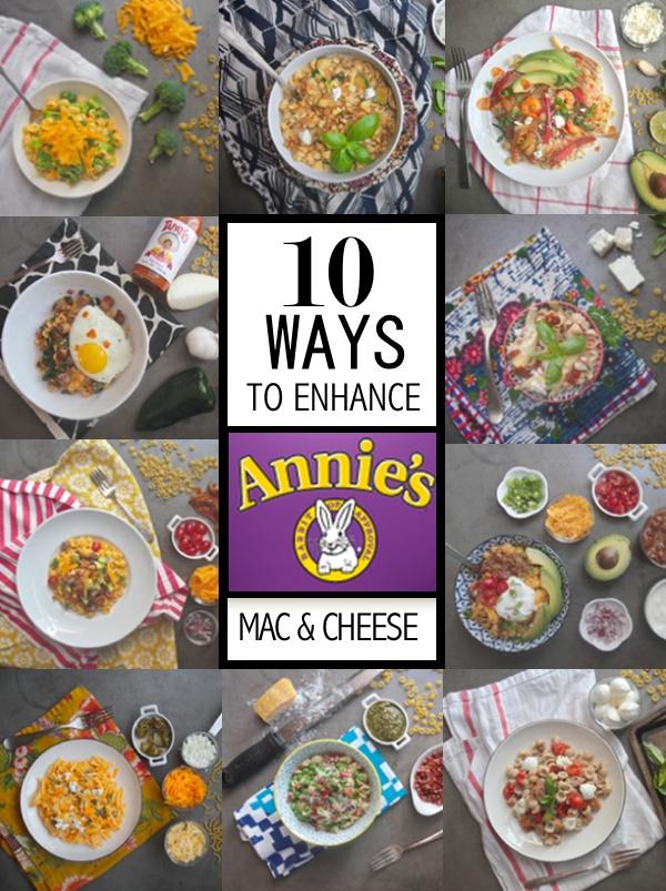 10 Ways to Enhance Annie\'s Mac & Cheese // shutterbean