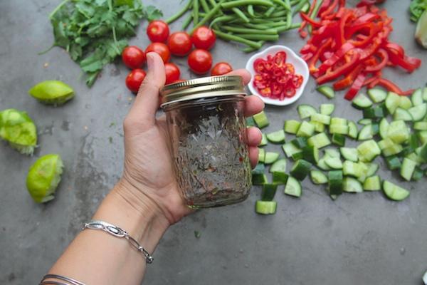 Chopped Thai Salad with Tofu // shutterbean