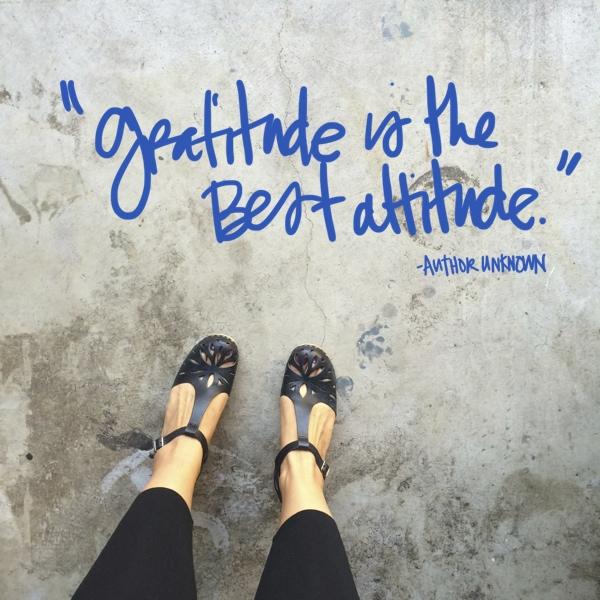 Gratitude is the best // shutterbean