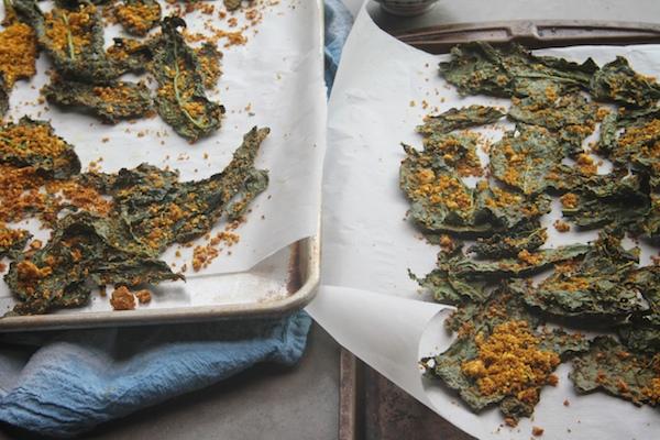 Masala Kale Chips // shutterbean